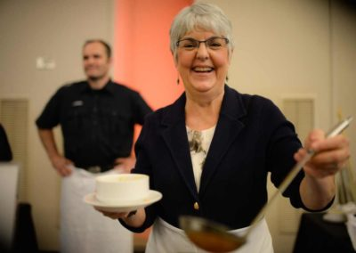 Carol-James-MLA-Souper-Bowls-of-Hope-2017
